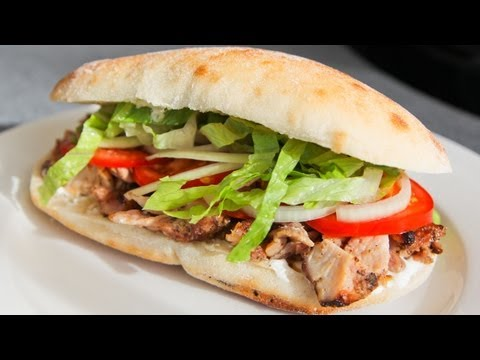 How To Make Chicken Doner Kebab - Recipe Video