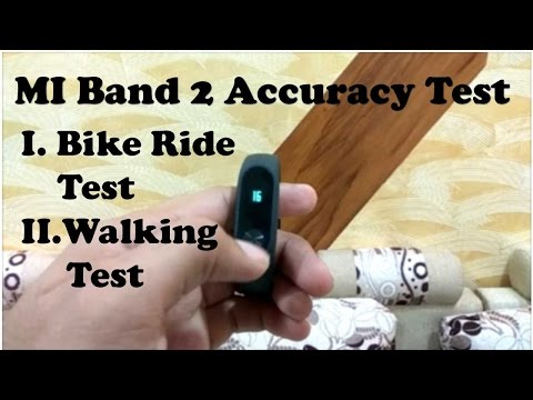 mi band 2 accuracy test