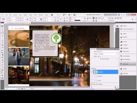 Create an easy Netflix style popup for a PDF in Adobe InDesign