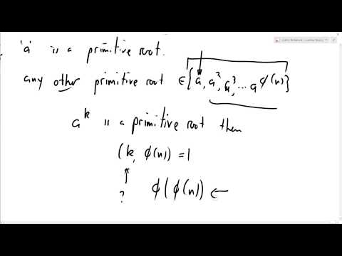 Number Theory 43: When does n have a primitive root