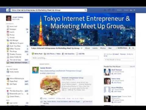How To Find People In Your Local Area On Facebook For A Meetup - Tokyo Internet Marketing