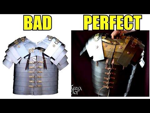 Perfect Segmentata VS Bad Cheap Segmentata - Replica Comparison