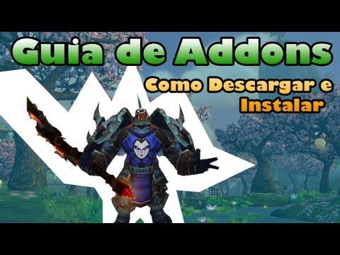 World Of Warcraft - Guia para Descargar AddOns ( PC / Mac ) [ HD Tutorial ]