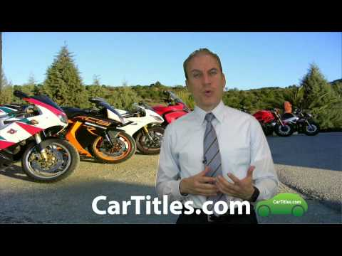 How do you get a title for a motorcycle? | AFX