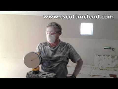 How to cut holes in sheetrock