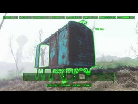 Fallout4 - Box car shack