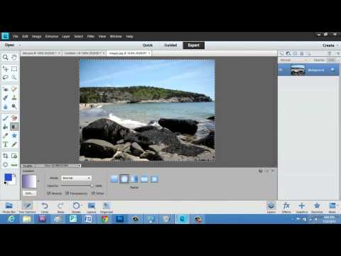 How to Make a Facebook Layout With Adobe : Photoshop Elements
