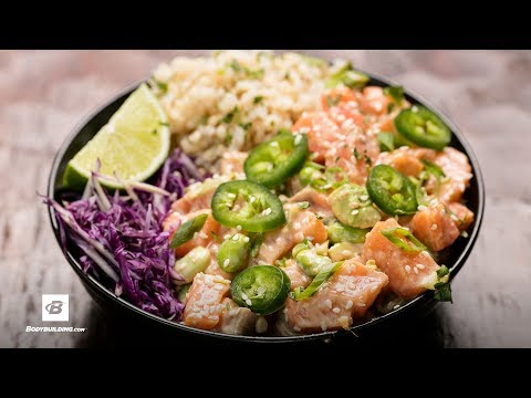 Spicy GAINZ Poke Bowl | Fuel & Gainz by Fit Men Cook