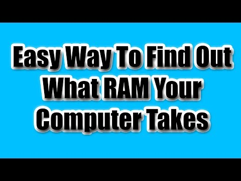How To Find Compatible RAM For Your PC / MAC - Tutorial