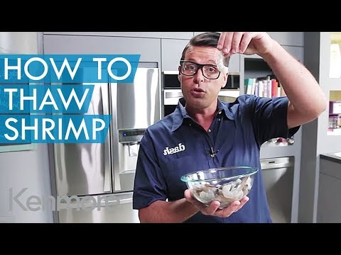 How to Thaw Frozen Shrimp