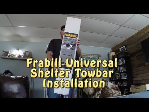 Frabill Universal Ice Shelter Tow Bar Installation