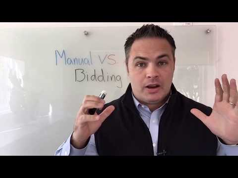 Manual Bidding vs Automatic Bidding and How To Beat Your Competitor