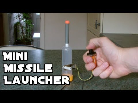Make a Mini Missile Launcher!