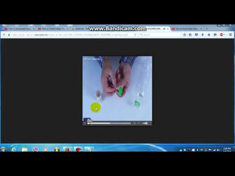 How to download video from facebook without any software 2016 In Telugu