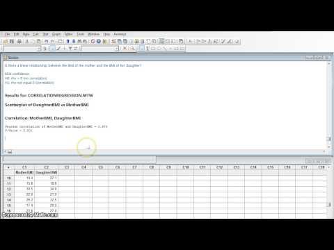 M17 Correlation and Regression