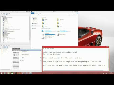 Blurry Text Issue Fix For Hp Pavilion 15 Ab032tx Running On Windows 81