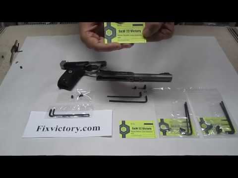 Smith & Wesson Victory Takedown Screw Permanent Fix!