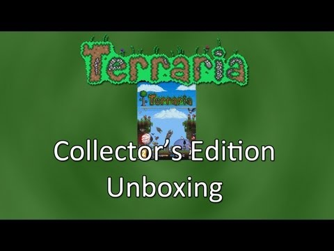 Terraria: Collector's Edition Unboxing!
