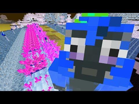 Minecraft PS4 - Roof Garden - Negative Challenge {7}