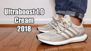 9052c15751d41 Adidas Ultraboost 1.0 Cream (2018) Review + On Feet