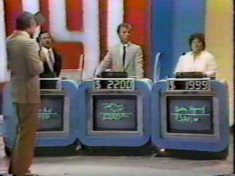 Jeopardy  -  Forgot to