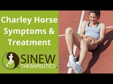 Charley Horse Symptoms and Treatment