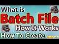 What is Batch File, How It Works and How To Create Batch File | In Hindi/Urdu |