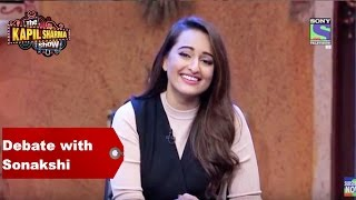 The Kapil Sharma Show - Debate with Akira Sonakshi Sinha