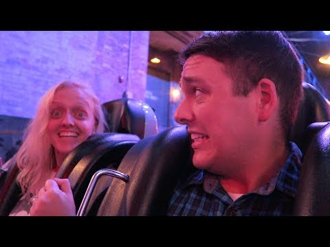 Blown Away by Our Front Seat Ride on Rock 'n' Roller Coaster! | Hollywood Studios