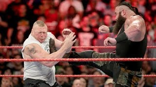WWE LATEST NEWS AND RUMORS On Finish For Brock lesnar vs Braun strowman WWE No Mercy 2017