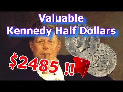 Rare 1972 Kennedy Half Dollar Varieties - Half Dollar Coins Worth Money