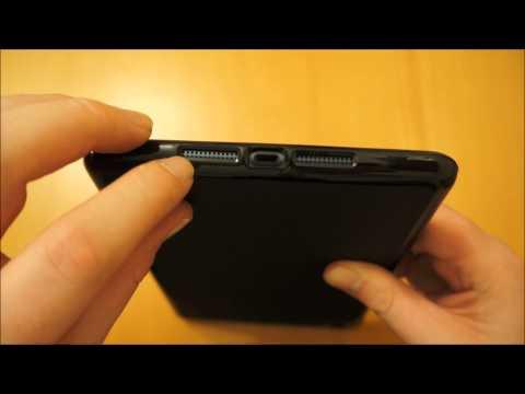 iPad Mini Solid Black Flexishield Case Cover Review