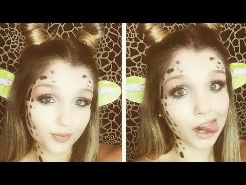 Giraffe Halloween Makeup Tutorial |MakeupBySaraStoy