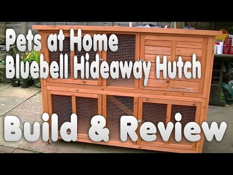 Bluebell Hideaway Rabbit Guinea Pig Hutch Review | Unboxing & How to Build | Pets at Home