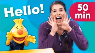 Hello Songs + More   Kids Songs   Sing Along With Tobee   Super Simple Songs