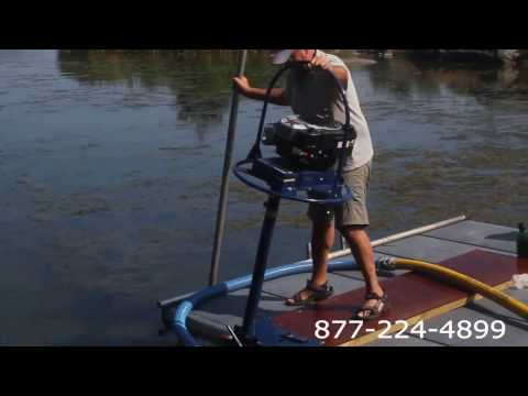 Portable Suction Dredge Lake Pond Mud Muck Removal United States
