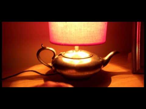 VINTAGE c1900 WMH&S EPBM SILVER PLATE PEWTER 100 TEA POT TOUCH TABLE LIGHT DESK LAMP