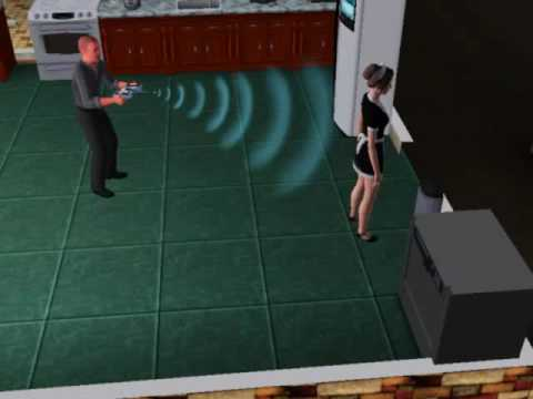 Sims 3: Zapping the Maid's Clothes Off