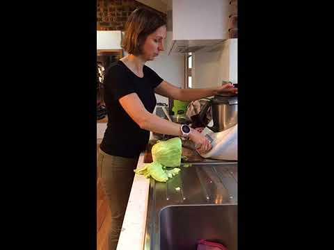 How to make sauerkraut juice
