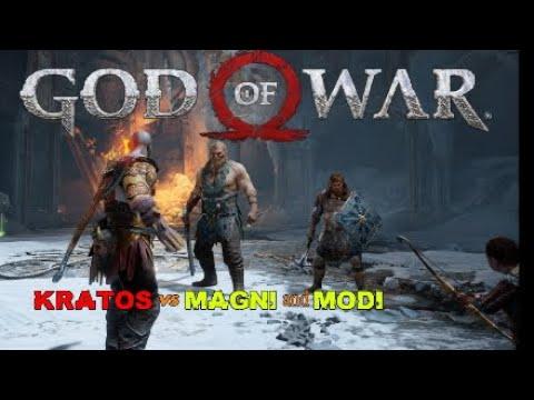 Kratos vs Magni and Modi GOD of WAR