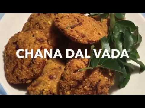 Healthy & Easy Chana Dal Vada Recipe | Mommy's Kitchen
