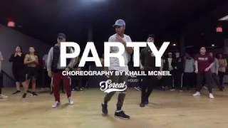 Chris Brown - Party | Khalil Mcneil Choreography @chrisbrown