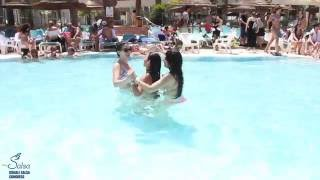 Israeli Salsa Congress 2016 - Bachata In The Pool With A Lot Of Beautiful Girls