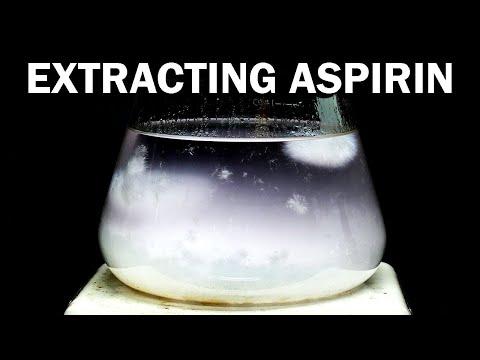 Aspirin to Acetaminophen - Part 1 of 6: Extracting Aspirin from Pills