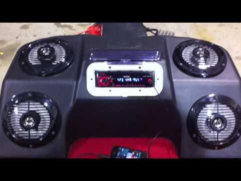 Custom ATV Speaker Enclosure