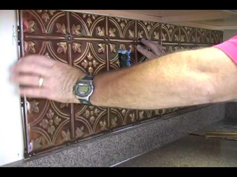 Installing a Kitchen Backsplash