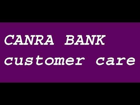 canara bank customer care number, canara bank customer service