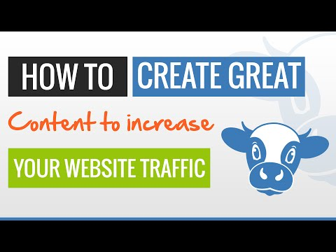 How to Create Great Content That Will Increase Your Website Traffic… #ATYC