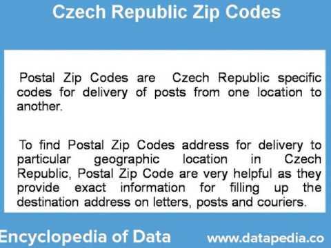 About Czech Republic Postal Zip Code Finder