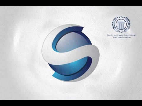 Simple 3D Logo Design Tutorial in Adobe illustrator - How to Create Letter S Logo Design